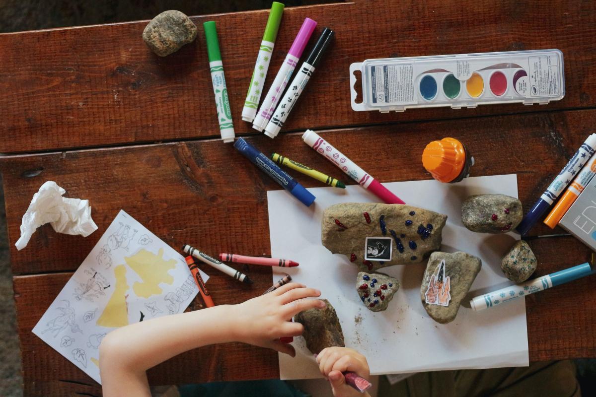 kreative aktiviteter med børn